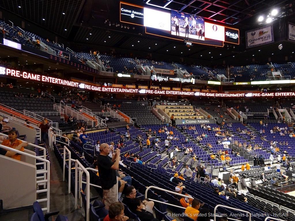 Phoenix Suns Us Airways Center Minute Maid Kids - Us-airways-center-map